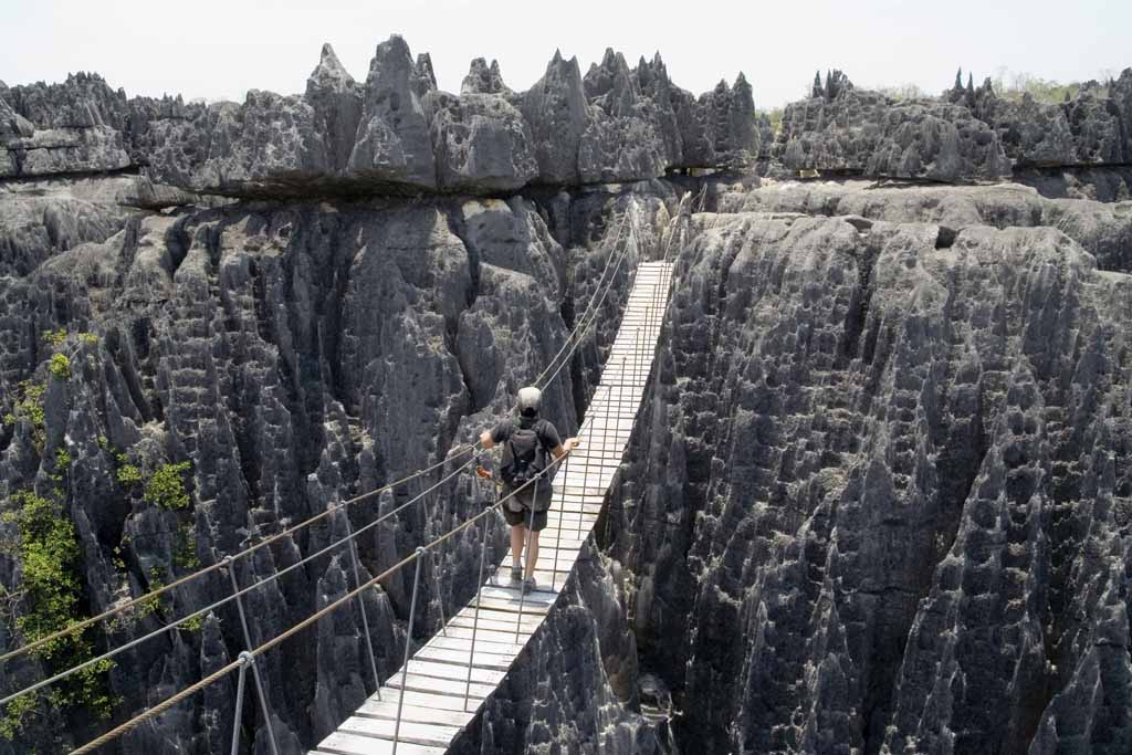 Tsingy, a floresta de pedra