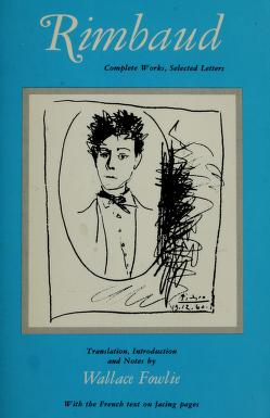 Cover of: Complete works, selected letters | Arthur Rimbaud