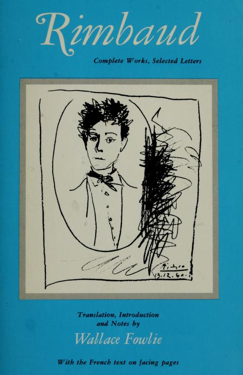 Complete works, selected letters by Arthur Rimbaud