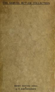 Cover of: The Samuel Butler collection at St. John's College, Cambridge