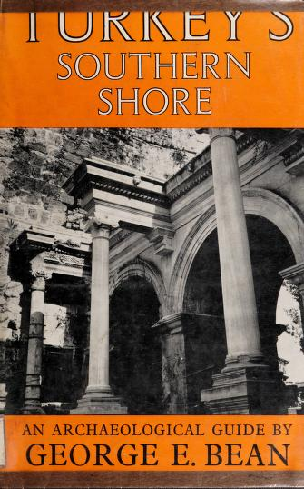 Cover of: Turkey's southern shore | George Ewart Bean